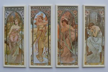Alfons Mucha - Denní doby, Alfons Mucha