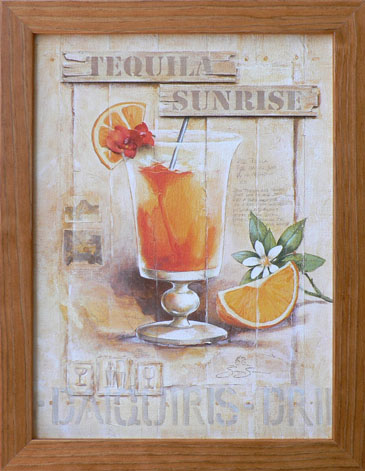 Drink -Tequila Sunrise