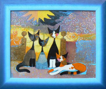 In Front of her Estate, Rosina Wachtmeister
