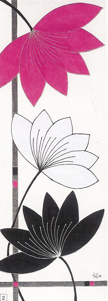 Obrazy  AB Fuchsia Lotus Blooms, Alan Buckle