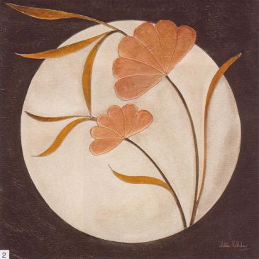 Obrazy  DH Japanesse Moon Panel II, Debbie Halliday