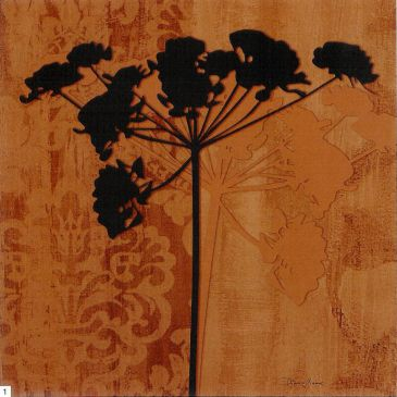 Obrazy  DM Herbage Silhouette, Diane Moore