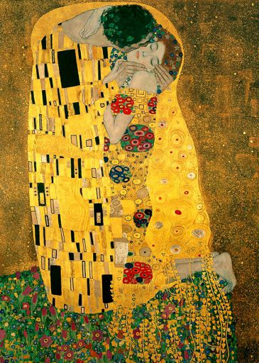 Obrazy  GK The Kiss, Gustav Klimt