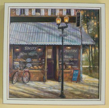 Obrazy - Pastry Shop, Ruane Manning