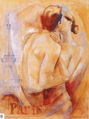 Obrazy  TCH Kiss in Paris, Talantbek Chekirov