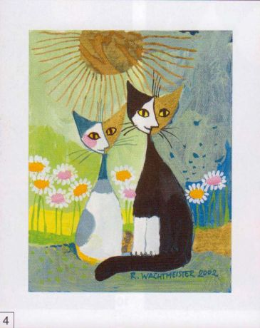 Obrazy  RW Two Friends, Rosina Wachtmeister