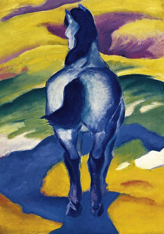Картинки по запросу caballo azul franz marc