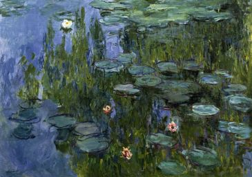 Reprodukce - Exclusive - Seerosen, Claude Monet