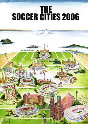 Reprodukce - Exclusive - The Soccer Cities 2006, Sylvia Joel