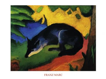Reprodukce - Expresionismus - Fuchs, Franz Marc