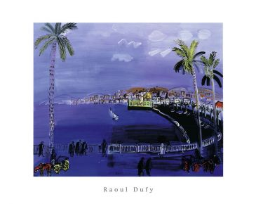 Reprodukce - Fauvismus - Baie de Anges,Nice, Raoul Dufy