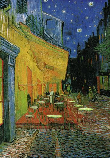Reprodukce - Impresionismus - Café at Night, Vincent van Gogh