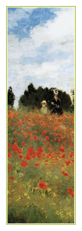 Reprodukce - Impresionismus - Field of Poppies, Claude Monet