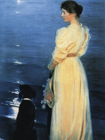 Reprodukce - Impresionismus - Summer evening at Skagen, Peter Severen Krøyer