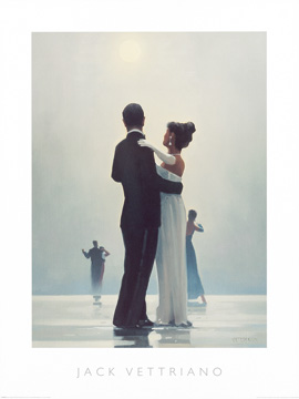 Reprodukce - Lidé - Dance Me to the End of Love, Jack Vettriano