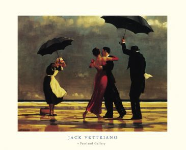 Reprodukce - Lidé - The singing Butler, Jack Vettriano