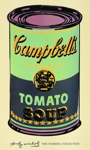 Reprodukce - Pop a op art - Campbell's Soup I., Andy Warhol