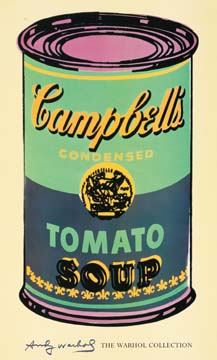 Reprodukce - Pop a op art - Campbell's Soup II, Andy Warhol
