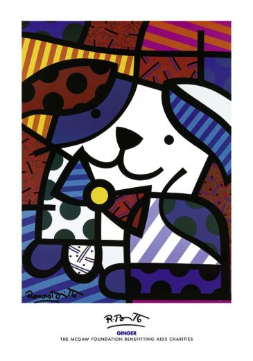 Reprodukce - Pop a op art - Ginger, Romero Britto