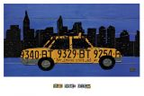 Reprodukce - Poster art - Taxi Cab