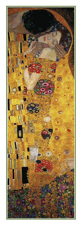 Secese - The Kiss, Gustav Klimt