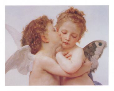 Symbolismus - The first Kiss, William Bouguereau
